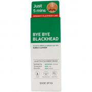Some By Mi Чудесная маска-пенка «Прощайте черные точки» на основе экстрактов зеленого чая Bye Bye Blackhead Bubble Cleanser (120 гр)