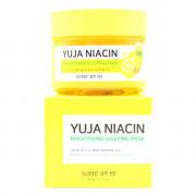 Some By Mi Ночная отбеливающая маска с маслом цитруса Юдзу и ниацинамидом для лица Yuja Niacin Brightening Sleeping Mask (60 гр)