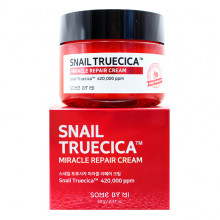 Some By Mi Восстанавливающий чудо-крем с 90% муцином черной улитки для лица Snail Truecica Miracle Repair Cream (60 гр)