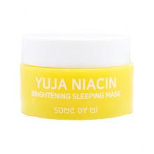 Some By Mi Миниатюра ночной отбеливающей маски с маслом цитруса Юдзу и ниацинамидом для лица Yuja Niacin Brightening Sleeping Mask (15 гр)