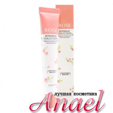 Some By Mi Интенсивный осветляющий, увлажняющий, тонизирующий крем для лица «Роза» Rose Intensive Tone-Up Cream Btrightening Moisture (50 мл)