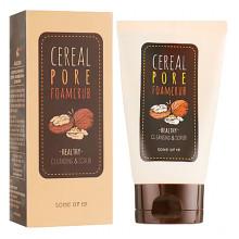 Some By Mi Ореховая пенка-скраб для очищения кожи и пор Cereal Pore Foamcrub Healthy Cleansing & Scrub (100 мл)