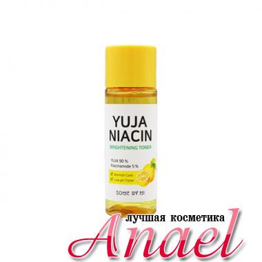 Some By Mi Миниатюра отбеливающего тонера с маслом цитруса Юдзу и ниацинамидом Yuja Niacin Brightening Toner (30 мл)