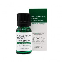 Some By Mi Успокаивающий чудо-спот с маслом чайного дерева для лица 30 Days Miracle Tea Tree Clear Spot Oil (10 мл)