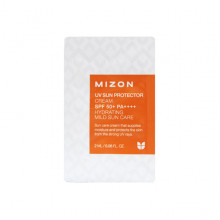 Mizon Пробник мягкого солнцезащитного увлажняющего крема UV Sun Protector Cream SPF50 PA++++ Hydrating Mild Sun Care