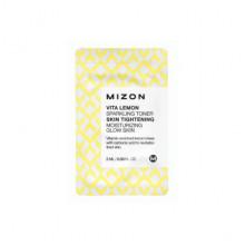 Mizon Пробник игристого витаминизированного тонера с экстрактом лимона Vita Lemon Sparkling Toner