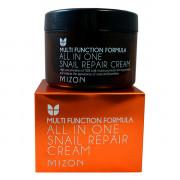 Mizon Многофункциональный восстанавливающий улиточный крем Multi Function Formula All In One Snail Repair Cream (120 мл)