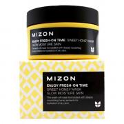 Mizon Увлажняющая смываемая медовая крем-маска для лица Enjoy Fresh-On Time Sweet Honey Mask Glow Moisture Skin (100 мл)