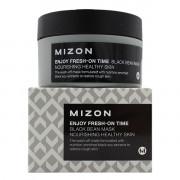 Mizon Питательная крем-маска с экстрактом черных бобов для лица Enjoy Fresh-On Time Black Bean Mask Nourishing Healthy Skin (100 мл)