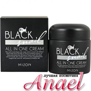 Mizon Крем с экстрактом черной улитки Black Snail All In One Cream (75 мл)