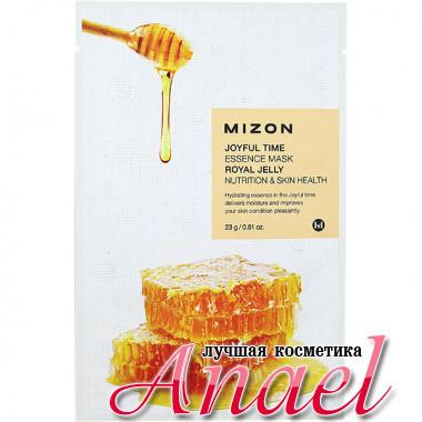 Mizon Питательная оздоравливающая тканевая маска с пчелиным молочком Joyful Time Essence Mask Royal Jelly (1 x 23 гр)