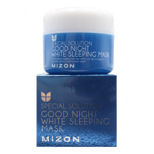 Mizon Отбеливающая увлажняющая ночная маска для лица Special Solution Good Night White Sleeping Mask (80 мл)