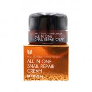 Mizon Миниатюра многофункционального восстанавливающего улиточного крема Multi Function Formula All In One Snail Repair Cream (15 мл)