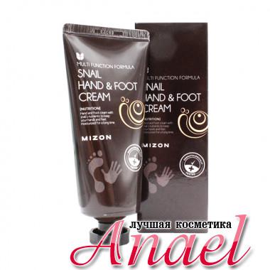 Mizon Питающий крем для рук и ног «Улитка» Snail Hand & Foot Cream (100 мл)