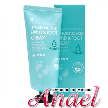 MIzon Увлажняющий крем для рук и ног с гиалуроновой кислотой Hyaluronic Acid Hand & Foot Cream (100 мл)