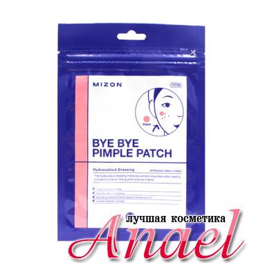 Mizon Гидроколлоидные патчи против акне Bye Bye Pimple Patch (24 шт)