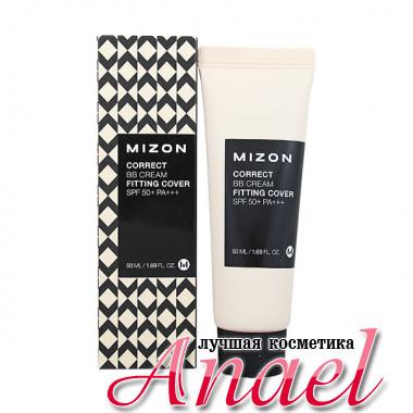 Mizon Корректирующий BB-крем с плотным покрытием Correct BB Cream Fitting Cover SPF50+ PA+++ (50 мл)