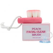 Coringco Щеточка для очищения кожи лица COC Peach Facial Clear Brush (1 шт)