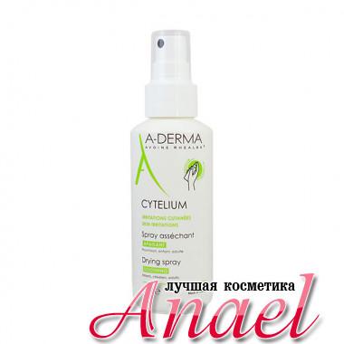 A-Derma Подсушивающий успокаивающий лосьон-спрей Cytelium Drying Spray Soothing (100 мл)