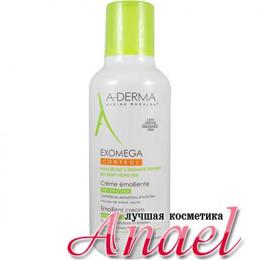A-Derma Смягчающий крем Экзомега для сухой и атопичной кожи Exomega Control Emollient Control Cream Anti-Scratching (400 мл)