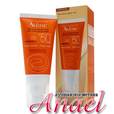 Avene Солнцезащитный крем с тоном для чувствительной кожи Very High Protection Tinted Cream SPF 50+ (50 мл)