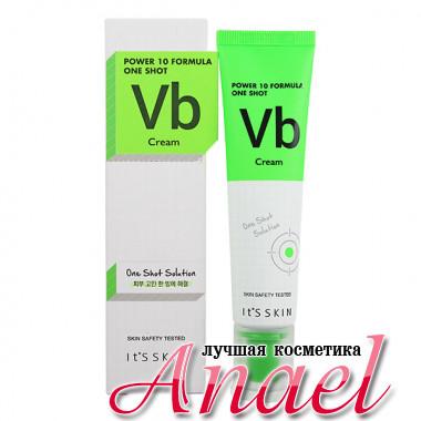 It's Skin Балансирующий крем для жирной кожи с витамином B6 и экстрактом лимонника Power 10 Formula One Shot VB Cream (35 мл)