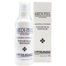 Medi-Peel Пузырьковая пептидная маска для глубокой очистки кожи и пор Customize Enzyme Dual Deep Mask 5 Peptide Balance (150 мл)