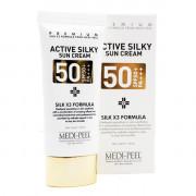 Medi-Peel Солнцезащитный крем с шелком и пептидами  SPF50+/PA+++ Active Silky Sun Cream (50 мл)