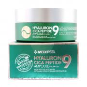Medi-Peel Гиалуроново-пептидные патчи с центеллой для контура глаз Hyaluron Cica Peptide 9 Ampoule Eye Patch (60 шт)