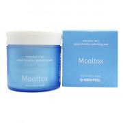 Medi-Peel Увлажняющие очищающие пилинг-спонжи  для лица и пор Aqua Mooltox Sparkling Pad Mooltox (140 мл)