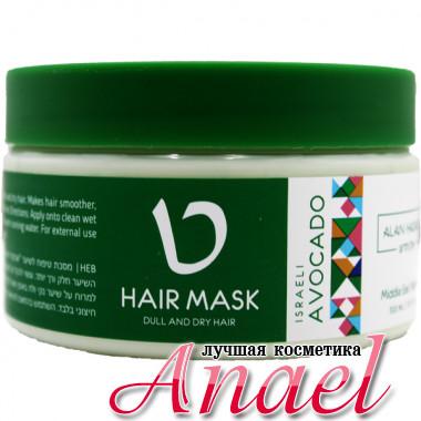 Alan Hadash Маска для увлажнения и блеска волос «Израильский авокадо» Israeli Avocado Hair Mask (300 мл)