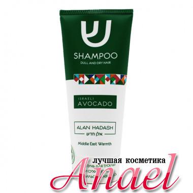 Alan Hadash Бессульфатный шампунь для тусклых и сухих волос «Израильский авокадо» Israeli Avocado Shampoo (200 мл)