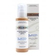 Enough Тональный крем-основа 3 в 1 с коллагеном Тон 13 (Светлый беж) Collagen Whitening Moisture Foundation 3 in 1 SPF 15 (100 мл)