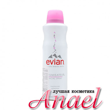 Evian Термальная вода-спрей для лица Natural Mineral Water Facial Spray (150 мл)