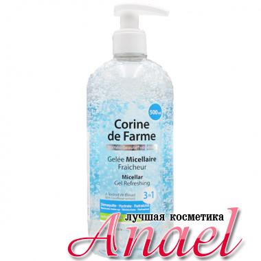 Corine de Farme Освежающий мицеллярный гель для чувствительной кожи Micellar Gel Refreshing 3 in 1 (500 мл)