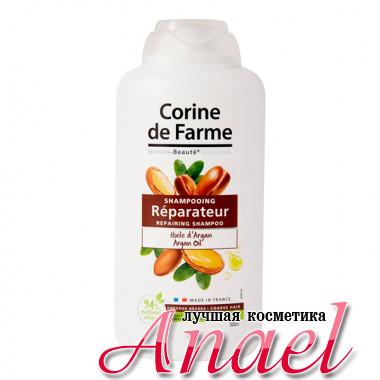 Corine de Farme Восстанавливающий шампунь с аргановым маслом для волос Repairing Shampoo with Argan Oil (500 мл)