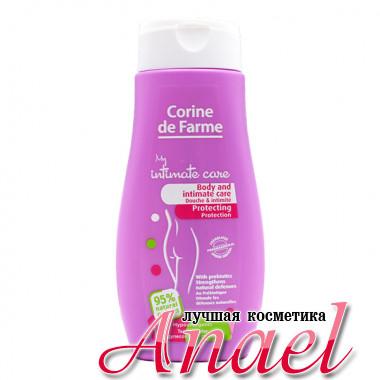 Corine de Farme Крем-гель с пребиотиками для душа и интимной гигиены Body and Intimate Care (250 мл)