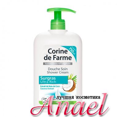 Corine de Farme Ультра-обогащенный крем-гель с экстрактом кокоса для душа Surgras Ultra-Rich Shower Cream Coconut Extract (750 мл)