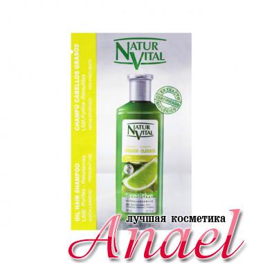 Natur Vital Пробник шампуня с экстратом лайма для жирных волос Lime Oil Hair Shampoo (10 мл)