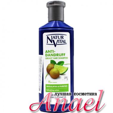 Natur Vital Шампунь от перхоти для жирных волос Anti-Dandruff Greasy Hair Shampoo (300 мл)