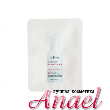 IsNtree Пробник очищающей отшелушивающей эссенции с 8% AHA кислот для сухой и нормальной кожи Clear Skin 8% AHA Essence