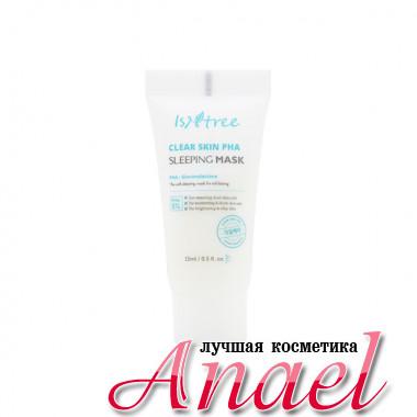 IsNtree Миниатюра ночной обновляющей крем-маски с глюконолактоном «Чистая кожа» Clear Skin PHA Sleeping Mask (15 мл)