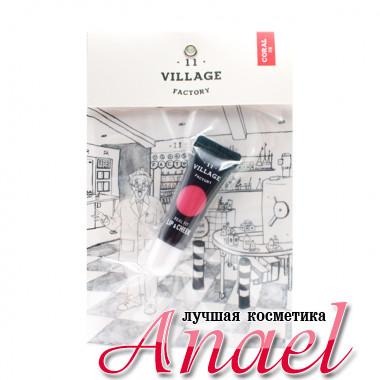 Village 11 Factory Тинт для губ и румяна тон Коралл Real Fit Lip & Cheek Peach (12 гр)