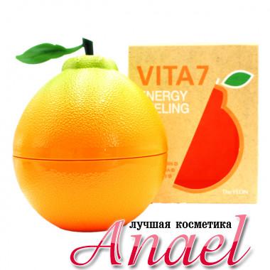 The Yeon Энергетический пилинг-гель (скатка) с AHA-BHA кислотами для лица Vita7 Energy Peeling Gel (100 мл)