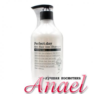 Village 11 Factory Укрепляющий шампунь «Лучший день» против выпадения волос Perfect-Day Anti Hair Loss Shampoo (500 мл)