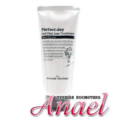 Village 11 Factory Укрепляющий бальзам-маска «Лучший день» против выпадения волос Perfect-Day Anti Hair Loss Treatment (200 мл)