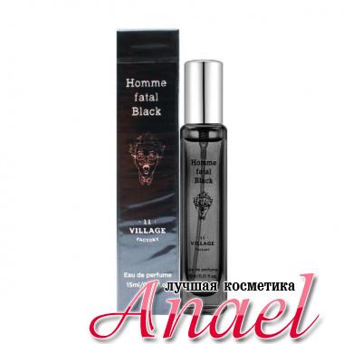 Village 11 Factory Парфюм «Роковой мужчина» Черный Homme Fatal Black Eau de Perfume (15 мл)
