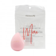 Focallure Безлатексный спонж для макияжа «Нежно-розовый» Mathch Max Make Up Sponge FA-136 06 Soft Pink (1 шт)