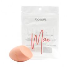 Focallure Безлатексный спонж для макияжа «Светло-оранжевый» Mathch Max Make Up Sponge FA-136 05 Light Orange (1 шт)