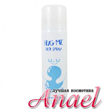 Tonymoly Спрей-дезодорант «Обнимашка» с ароматом морской свежести Hug Me Deo Spray Aqua (100 мл)